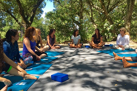 Corporate Offsite Sonoma Yoga