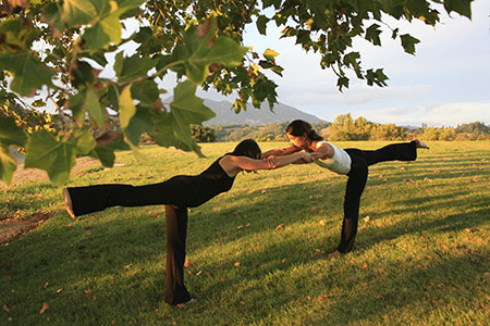 Yoga retreat Sonoma Wine Country, California