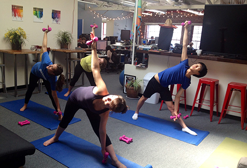 Office Yoga San Francisco Bay Area