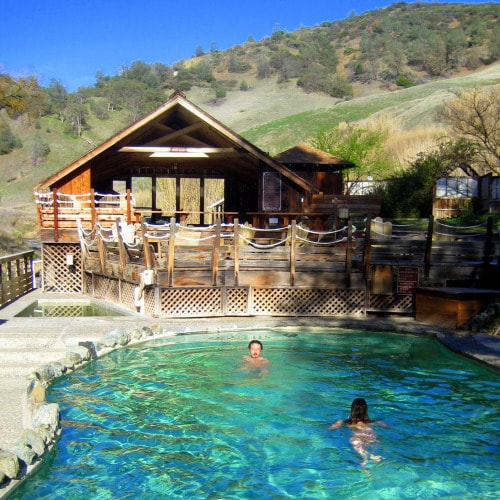 Hot Springs and Yoga Retreat California