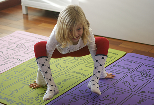 Yoga and mindfulness for kids.