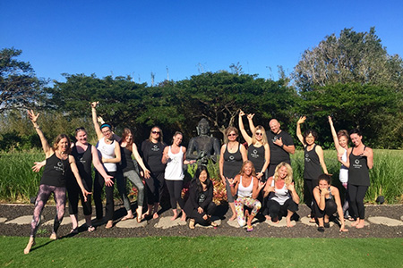 Maui yoga retreat for all levels
