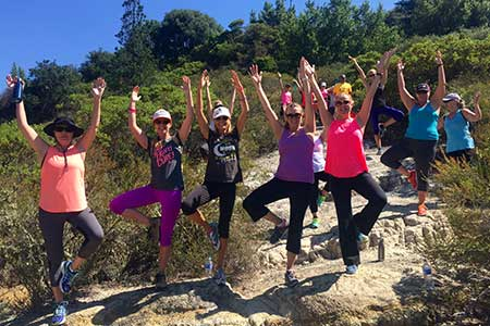 Yoga Hike San Francisco