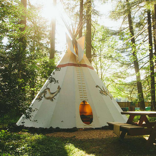 Oregon Tipi Village