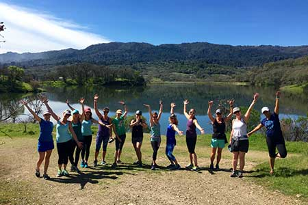 Yoga Hike in Sonoma