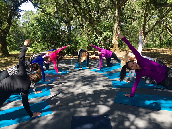 Yoga Outdoors San Francisco Bay Area